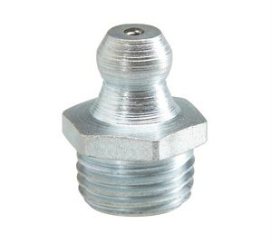 Straight Hydraulic Grease Nipples - Steel Zinc Plated-0