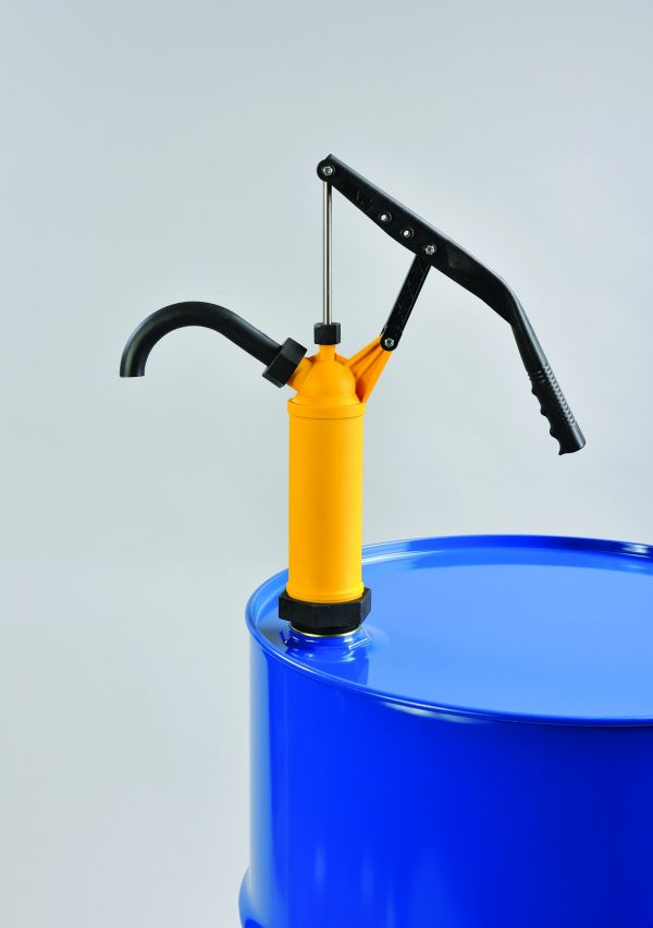 205L Yellow Plastic Lever Pump -0