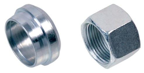 Steel Compression Nuts & Olives - Metric-0