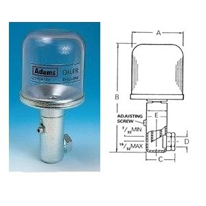 VABL7970 Constant Level Oiler - Side Entry-0
