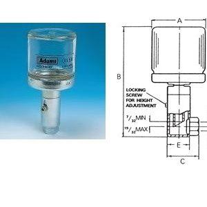 Constant Level Oiler - Side Entry - Glass Bottle-0