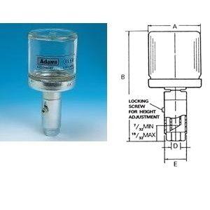 Constant Level Oiler - Base Entry - Glass Bottle-0