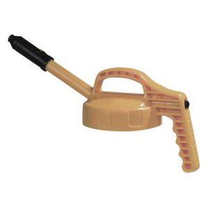Oil Safe Beige Stretch Lid-0