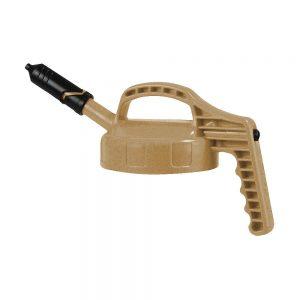 Oil Safe Beige Mini Spout Lid-0