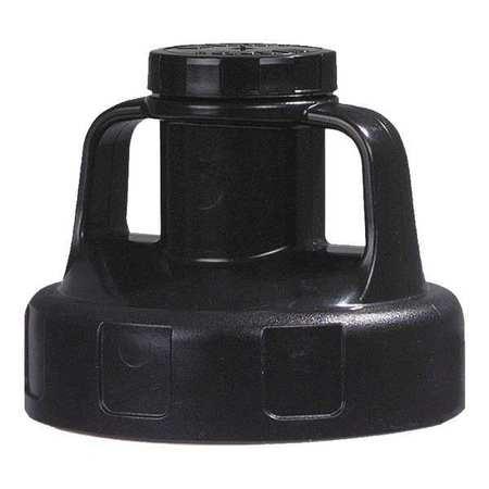 Oil Safe Black Utility Lid-0