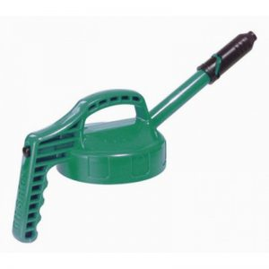 Oil Safe Mid Green Stretch Lid-0
