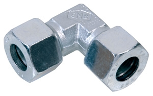 EC6-LLC 6mmOD Equal Steel Coupling 90° - LL Series-0