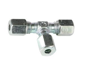 TC6-LLC 6mmOD Equal Tee Coupling - LL Series-0